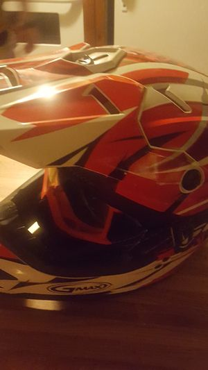 Dirt bike Helmet & Scoot goggles GMAX RIDING for Sale in Northfield, OH