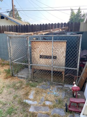 Chicken coop bird cage dog pet animal enclosure for Sale in Azusa, CA