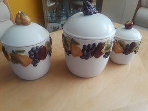 Kitchen jars for Sale in CARPENTERSVLE, IL