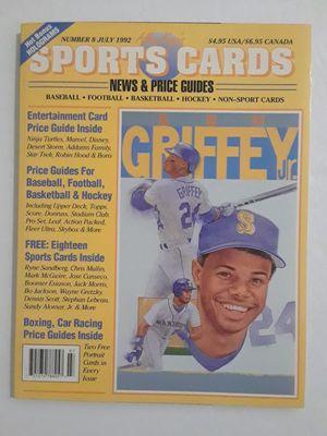 Ken Griffey Jr Sports Cards Magazine Number 8 July 1992 Excellent Condition for Sale in Salem, OR