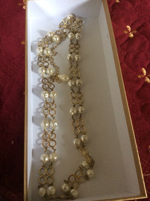 Chain Gold with pearls for Sale in Chula Vista, CA
