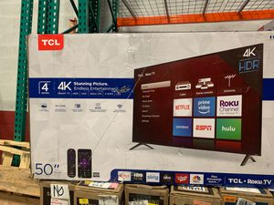 "TCL TV 50"" 4 K ROKU 50S425 open box like new for Sale in Miami, FL"