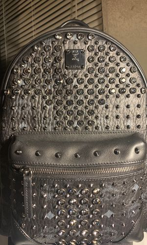 MCM limited edition backpack with Dimond stones for Sale in Desoto, TX