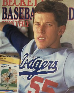 Beckett December 1988 issue #45, Front Cover Orel Hershirer, Back Cover Mark McGwire USA Card. for Sale in Boston,  MA