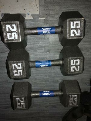 FITNESS GEAR DUMBBELL 25LB for Sale in Brownsville, TX