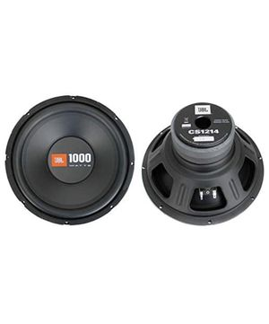 "2 JBL CS1214 12"" 2000W Car Subwoofers Power Subs Audio Woofers 4 Ohm SVC Black for Sale in Hawthorne, CA"