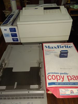 HP LaserJet 4/4m Network/Stand alone printer. for Sale in Colorado Springs, CO
