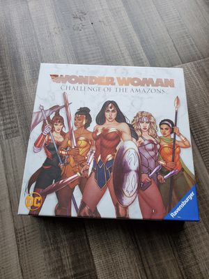 Board Game: Wonder Woman - Challeneg of the Amazons for Sale in Hyattsville, MD