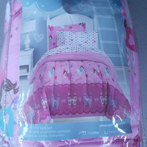 Twin Bed Set, Dream Factory Princess Pink for Sale in Escondido, CA