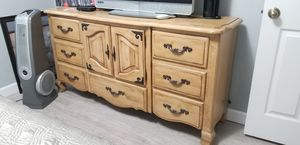 Drawer Set, Made in 2001 Solid wood. (Not Ikea) for Sale in Miami, FL