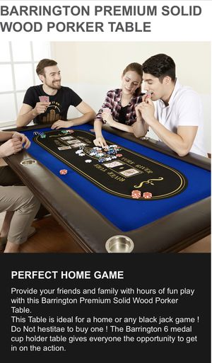 New in Box Poker Table Top Quality for Sale in Norfolk, VA