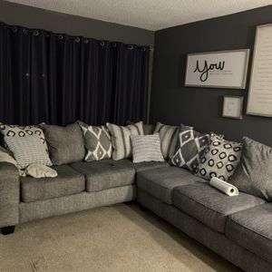 Grey Couch for Sale in Atlanta, GA