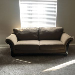 Two Full Size Brown Texture Couches for Sale in Provo, UT