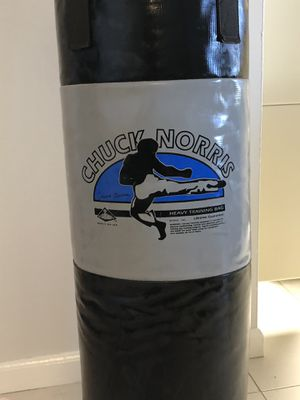 Chuck Norris Punching Bag - PRICE DROP for Sale in HALNDLE BCH, FL
