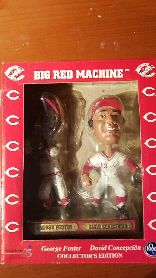big red machine bobble heads