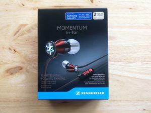 Sennheiser Momentum In-Ear Headphones with headset, Android Version , red/black for Sale in La Puente, CA