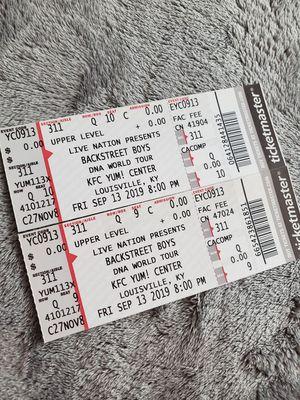 Backstreet Boys tickets for Sale in Lexington, KY