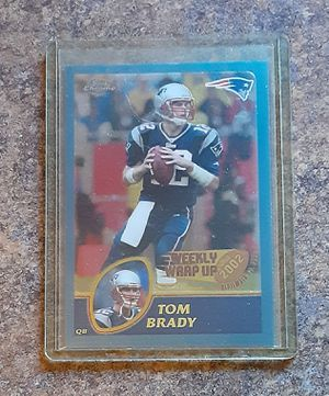 Tom Brady Sports Memorabilia Collector's Card for Sale in Fox Lake, IL