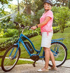 """New!! Bike, electric bike, 7 speeds 26"""" wheels unisex electric bike, male bicycle, female bicycle, bicycle , blue for Sale in Phoenix, AZ"""