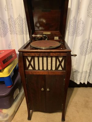 Early 1900's Edison Phonograph w/ 78's for Sale in Waupun, WI
