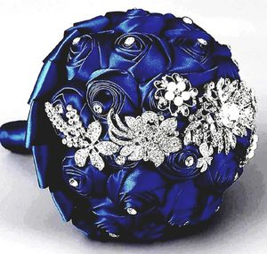 Wedding Bouquet Brooch Decor(Dia:24cm, Navy for Sale in La Mirada, CA