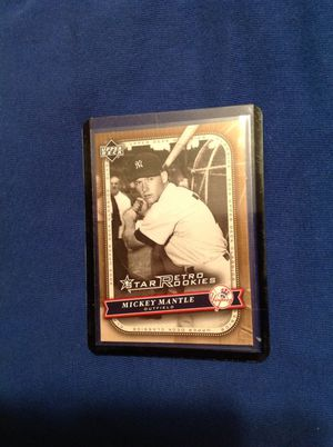 Mickey Mantle baseball card for Sale in Rowland Heights, CA