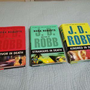 NWT Nora Robert's Writing As J. D. Robb Hardback Books! for Sale in Santa Rosa Beach, FL