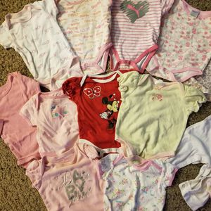0-3 Month Baby Girl Clothes Bundle for Sale in Las Vegas, NV