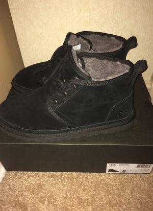 Black uggs size 8 for Sale in Smyrna, TN