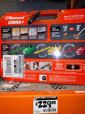 Concrete nail gun cobra for Sale in Washington, DC