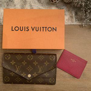 Louis Vuitton Jeanne Wallet + Card Holder for Sale in San Diego, CA