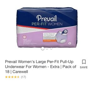 Prevail women's large pull up underwear for Sale in Fort Pierce, FL