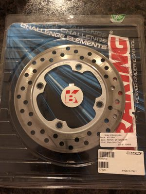 Braking Rotor ST HON Rear, Part #HO22RWD MOTORCYCLE PARTS for Sale in Mentor, OH