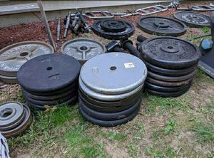 """Tons of 1"""" hole weight for Sale in Dracut, MA"""