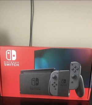 Nintendo Switch Console Gray V2 for Sale in Los Angeles, CA