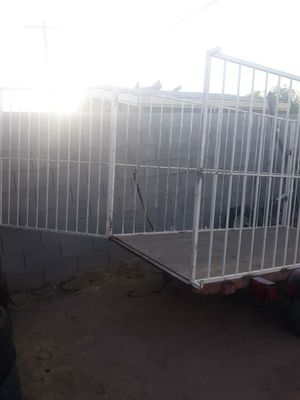 4x8 trailer cage good condition no title buy have California plates permanent for Sale in Phoenix, AZ