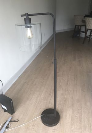 Rustic modern floor lamp for Sale in Austin, TX