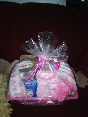 Gift Basket for Baby Girl for Sale in Spartanburg, SC