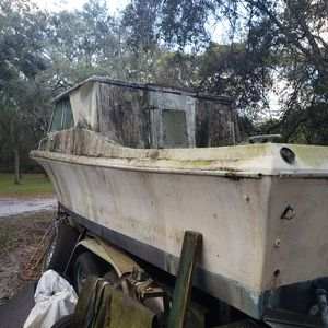 Boat and trailer for Sale in Spring Hill, FL