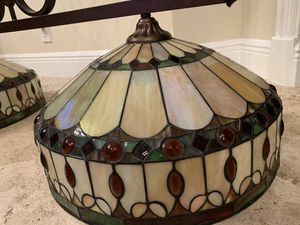 """Hanging light ,20"""" Tiffany globes ,great condition, asking $450 for Sale in Parkland, FL"""