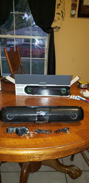 Portable sound bar bluetooth FM radio for Sale in Fresno, CA