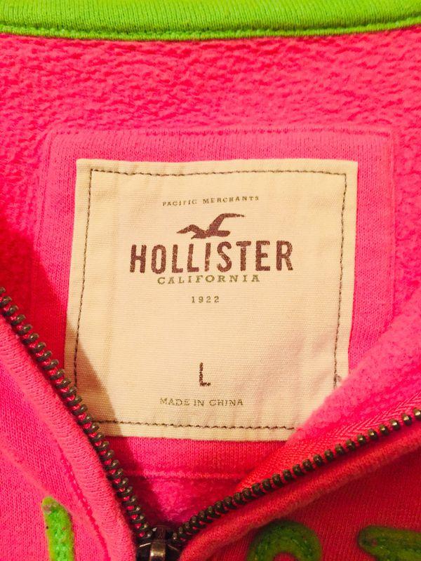 Hollister hoodie jacket
