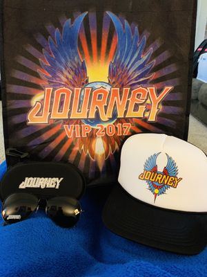 Journey VIP swag bag from 2017 tour for Sale in Sand Springs, OK