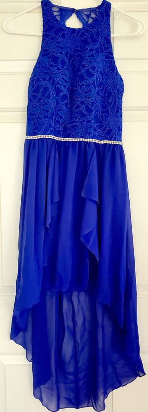 City Studio Special Occasion Dress Royal Blue Sz 3 EUC for Sale in Lorain, OH