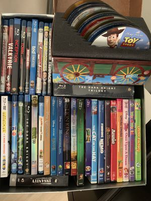 Lot of over 35 DVDs / Blu-Rays for Sale in Miami, FL