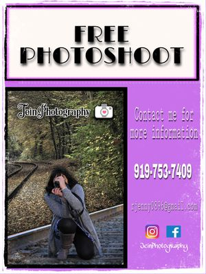 Free Photoshoot for Sale in Cary, NC