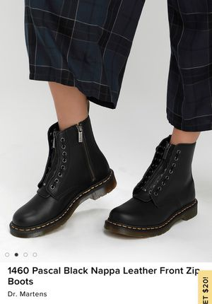 Dr. Martens front zip boots for Sale in Los Angeles, CA