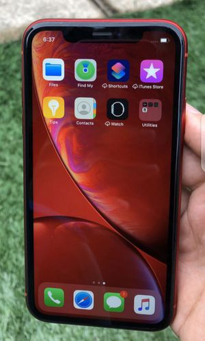 Red iPhone Xr, 128GB for Sale in Phoenix, AZ