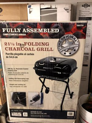 Charcoal Grill (Folding still in box) for Sale in New Haven, IN