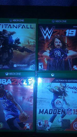 Xbox one games for Sale in Pompano Beach, FL